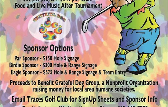 GRATEFUL DOG GOLF TOURNAMENT